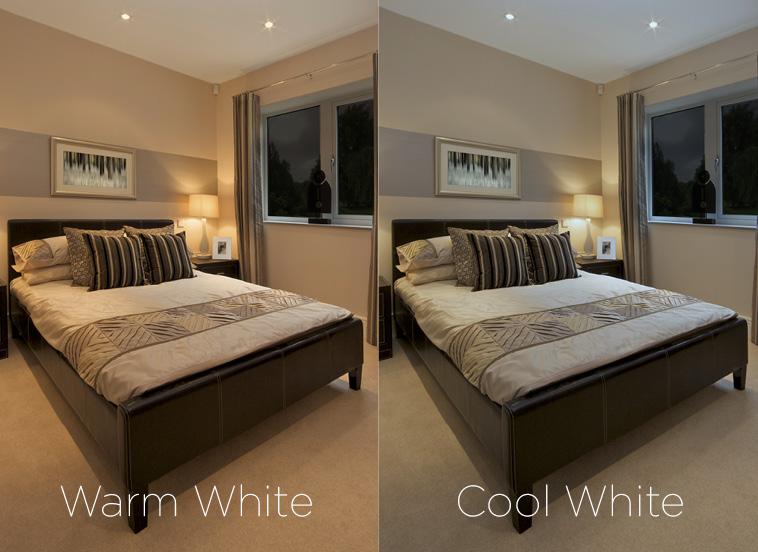 Warm White Or Cool White Integral Led